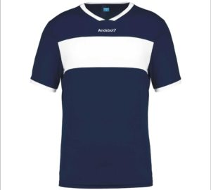 Camisola de Jogo Zagreb Azul marinho-Branco