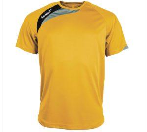 Camisola de jogo Colónia Amarelo-Preto