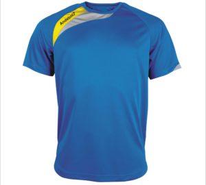 Camisola de jogo Colónia Azul-Amarelo