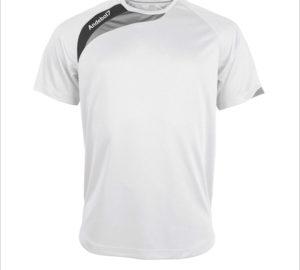 Camisola de jogo Colónia Branco-Preto