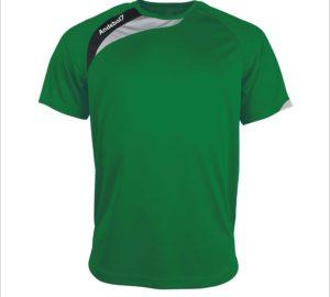 Camisola de jogo Colónia Verde-Branco