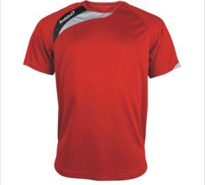 Camisola de jogo Colónia Vermelho-Preto