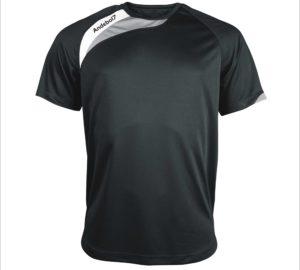 Camisola de jogo Colónia preto-branco