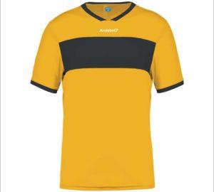 Camisola de jogo Zagreb Amarelo-Preto