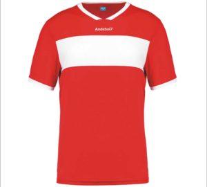Camisola de jogo Zagreb Vermelho-Branco